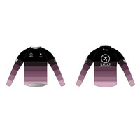 Black Long Sleeve Running Shirt