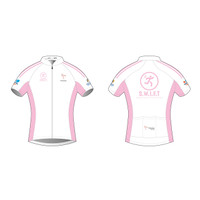 SWIFT White Short Sleeve Cycling Jersey