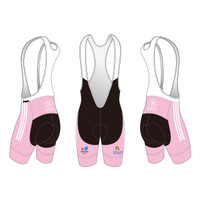 White Cycling Bib Shorts