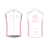 White Cycling Wind Vest