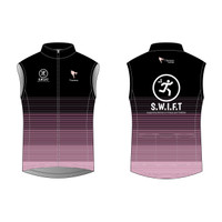 Black Cycling Wind Vest