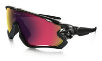Jawbreaker™ Polarized Black with Oo Red Irid Polar