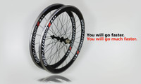 50/50mm Alloy Carbon Series Rims (Clincher)