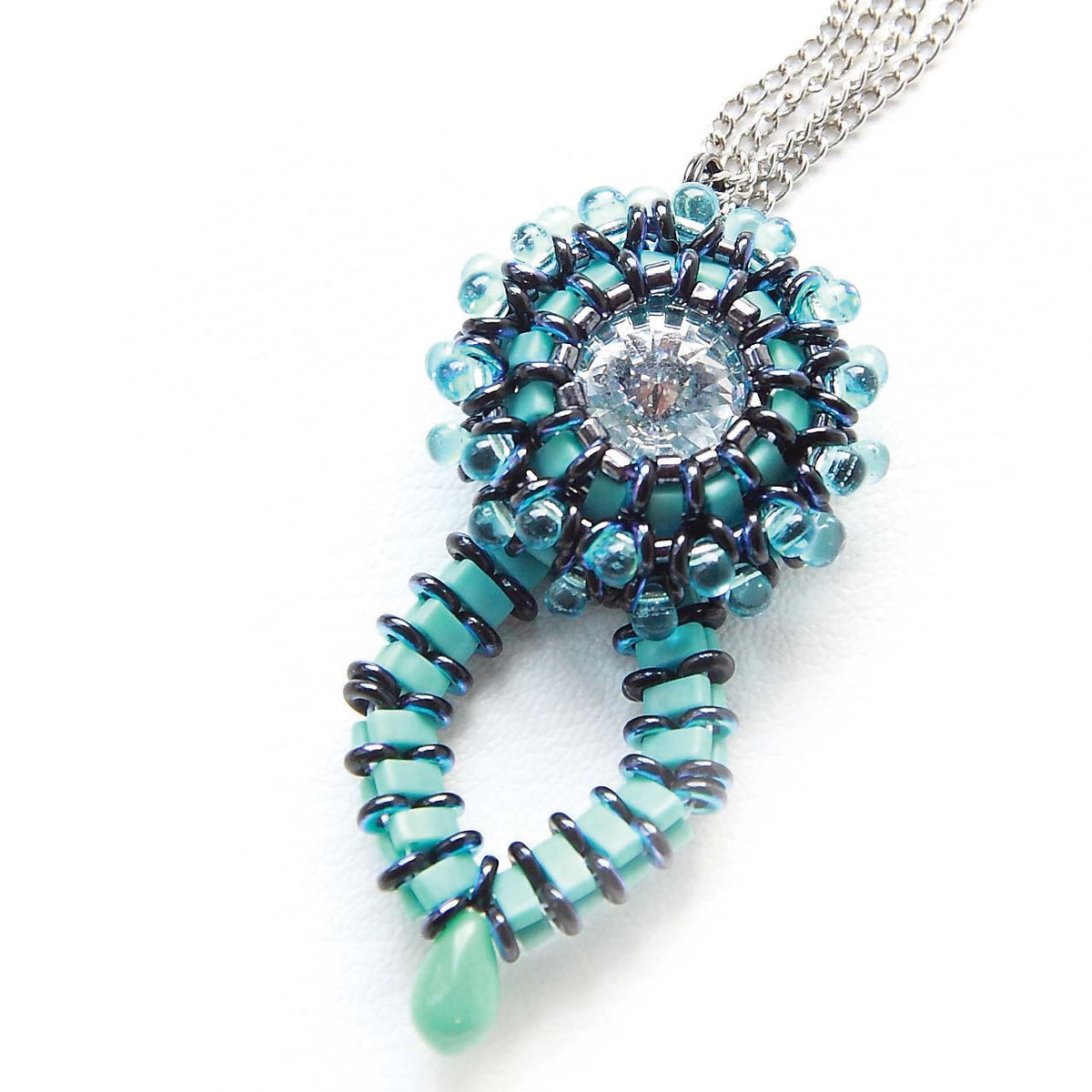 WILD FLOWER - Free Jewelry Making Project complements of