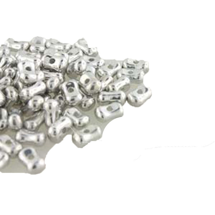 Full Labrador Farfalli 3.2x6.4mm Peanut Czech Glass Beads 19 grams