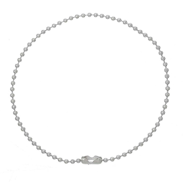 12 Pack Silver Plated 2mm Fine Ball Chain Bracelet 8-1/2 Inch
