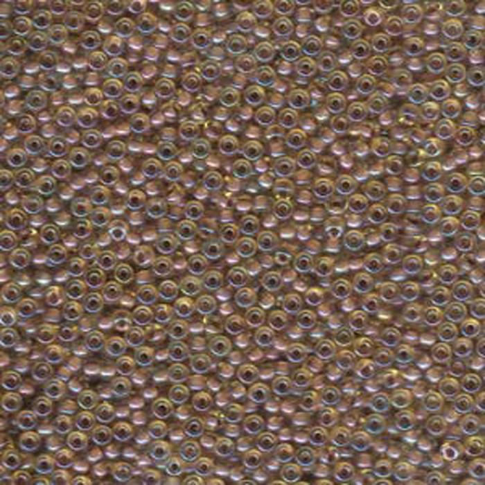 Amethyst Lined Light Topaz Miyuki 11/0 rocailles glass seed beads 24 grams