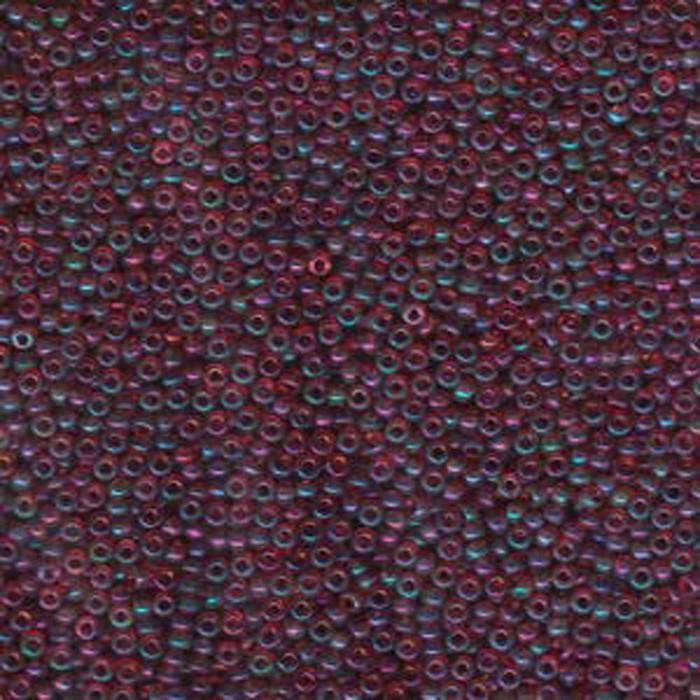 Amethyst Gold Luster Miyuki 11/0 rocailles glass seed beads 24 grams