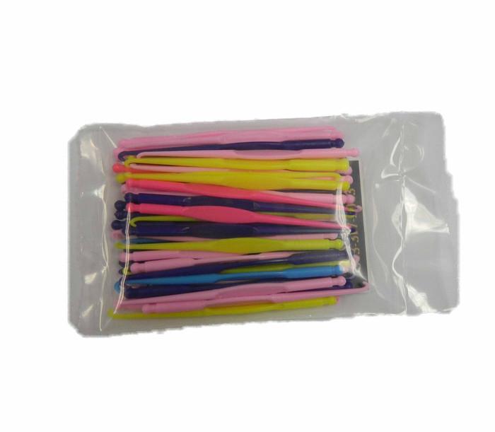 Bulk Mini 3 Inch Crocet Hooks for Rubber Band Looms 48 Bulk Pack
