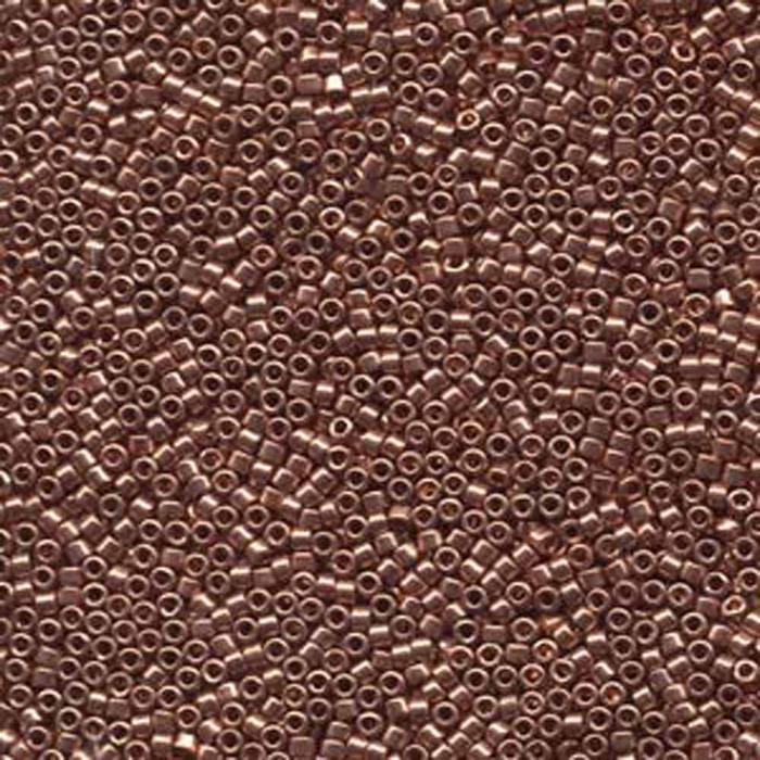 Bright Copper Plated (Db40) Delica Myiuki 11/0 Seed Bead 7.2 Gram