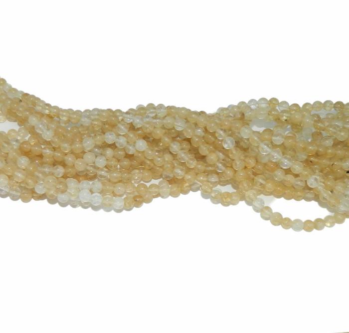 "6mm Rulite Quartz Manmade Gemstone beads Round Beads 15"" Loose Strand"