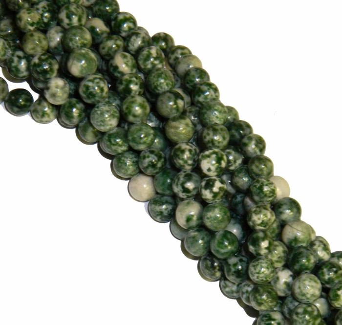 "12mm Tree Agate Round Beads 40cm 15"" Gemstone"