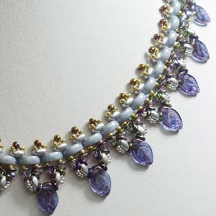 MONI LUNA NECKLACE - Free Jewelry Making Project complements of Bead Smith(R)