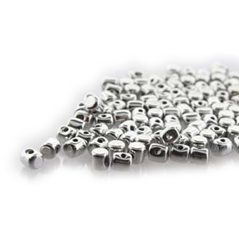 Argentlees MINOS® Par PUCA® 2 5x3mm Cylinder Czech Glass Beads 5 grams HP-MNS253-00030-27000-5G