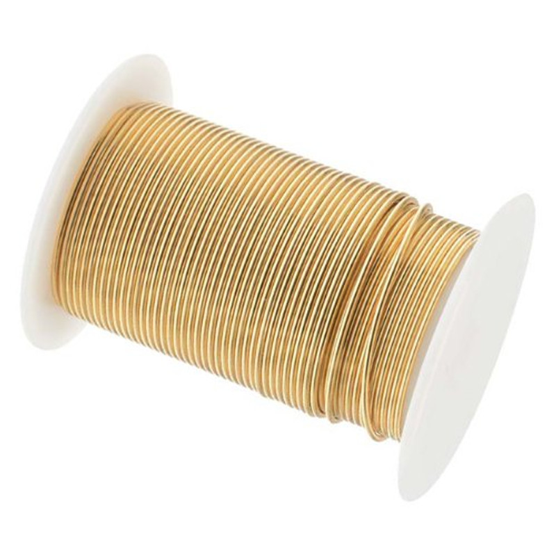 18 Gauge the Bead Smithtm Tarnish Resistant Craft Wire - Gold