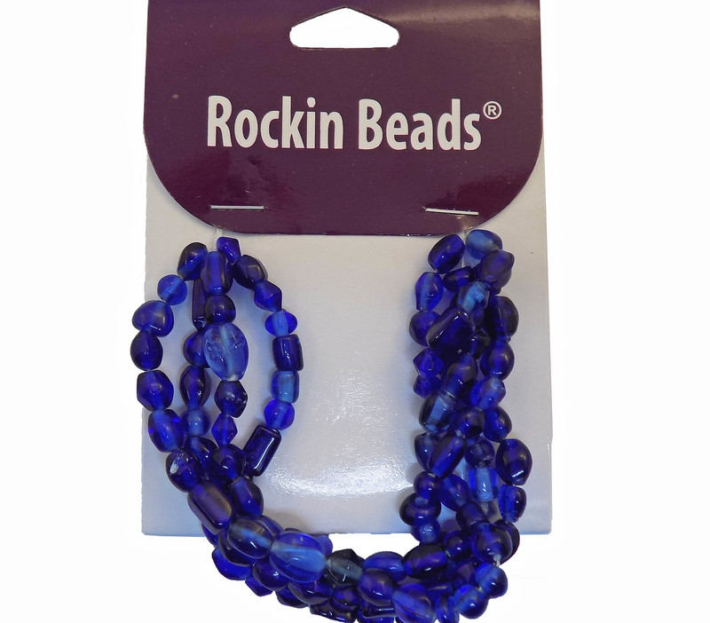 MidNight Blue Irrigular Beeds Losse Strand Bead From India SI-26017-28877 BA783935148886