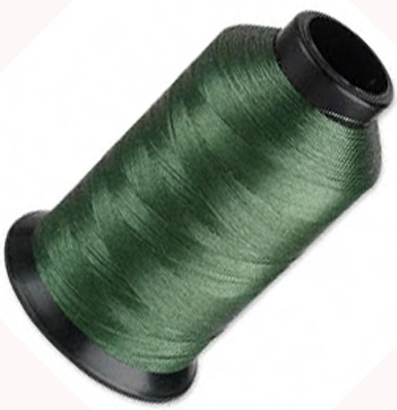 """Nymo Nylon Seed Bead Thread Size D Green 0.012"""" 0.34mm 3-ounce spool"""