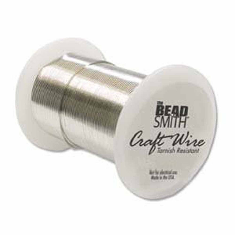 24 Gauge the Bead Smithtm Tarnish Resistant Craft Wire - Silver
