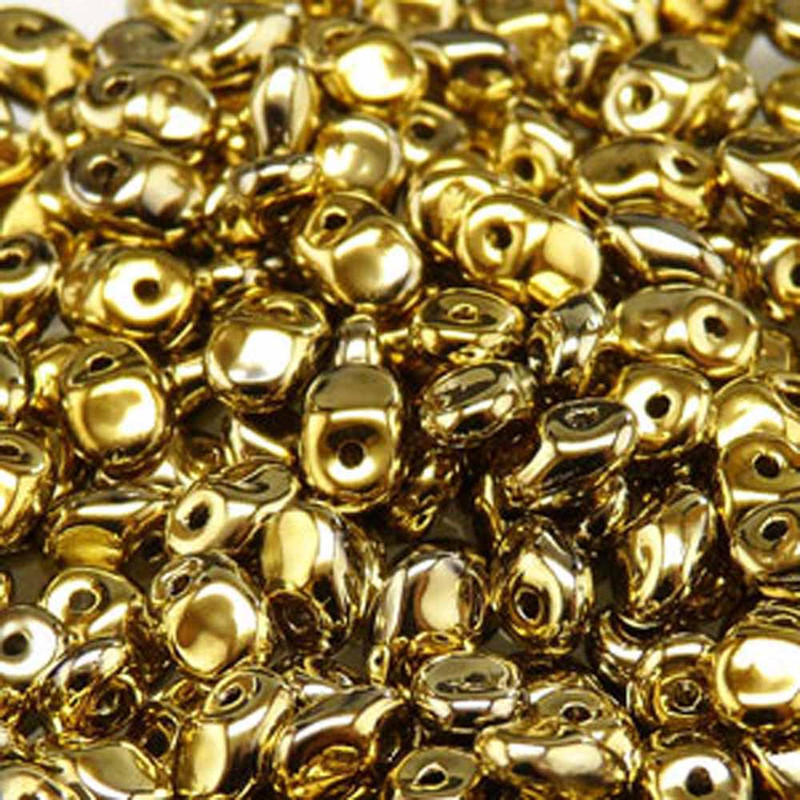 Full Amber 2.5x5mm 1 ONE Hole Fringe Czech Glass Seed Beads 20gr