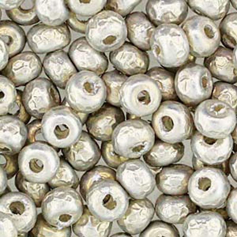Baroque Pearl Silver Miyuki E Beads 5/0 Seed Bead Glass 50 Gram