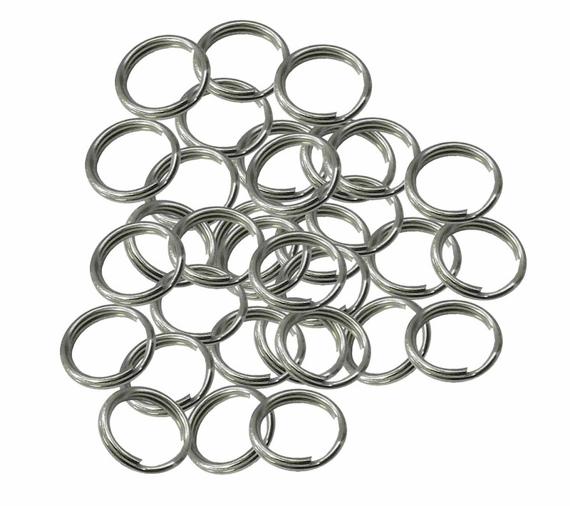 48 Split Ring  Nickel Plated Steel 11mm USA 92507-48