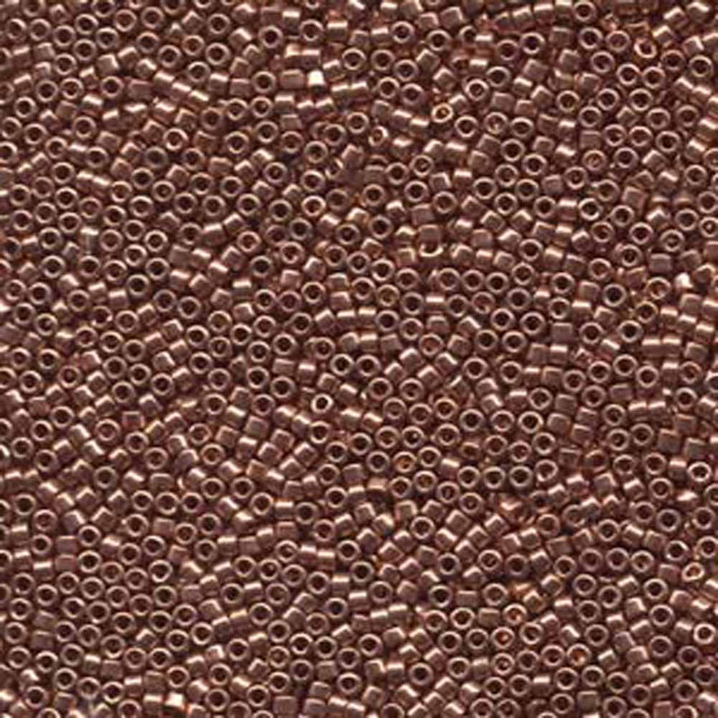 Bright Copper Plated (Db40) Delica Myiuki 11/0 Seed Bead 7.2 Gram