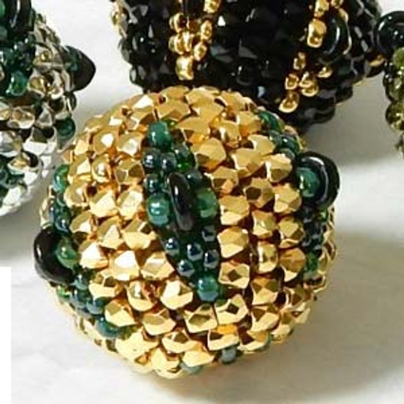 SPARKLE PLENTY BEADED BEAD- Free Jewelry Making Project complements of Bead Smith(R)