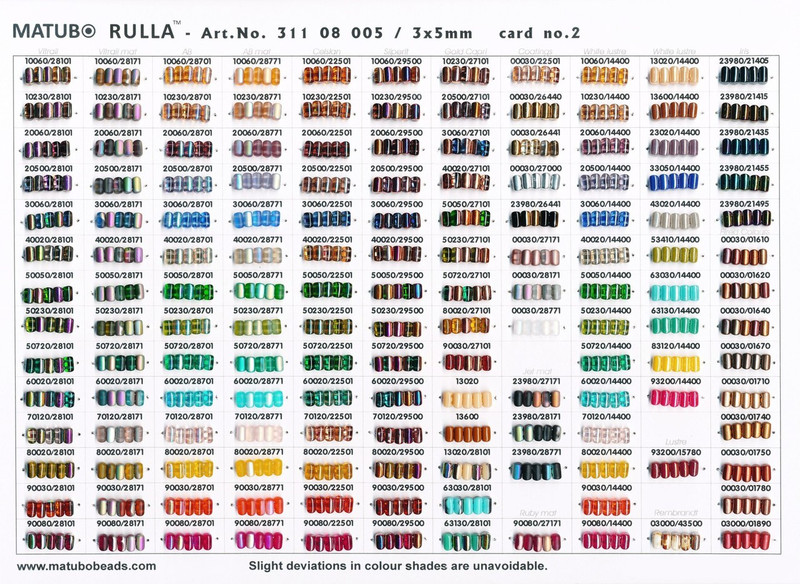 Rulla Beas Colors By Matubo
