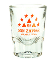 Don Zavier Fluted Shot Glass