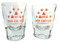 Don Zavier Fluted Shot Glasses