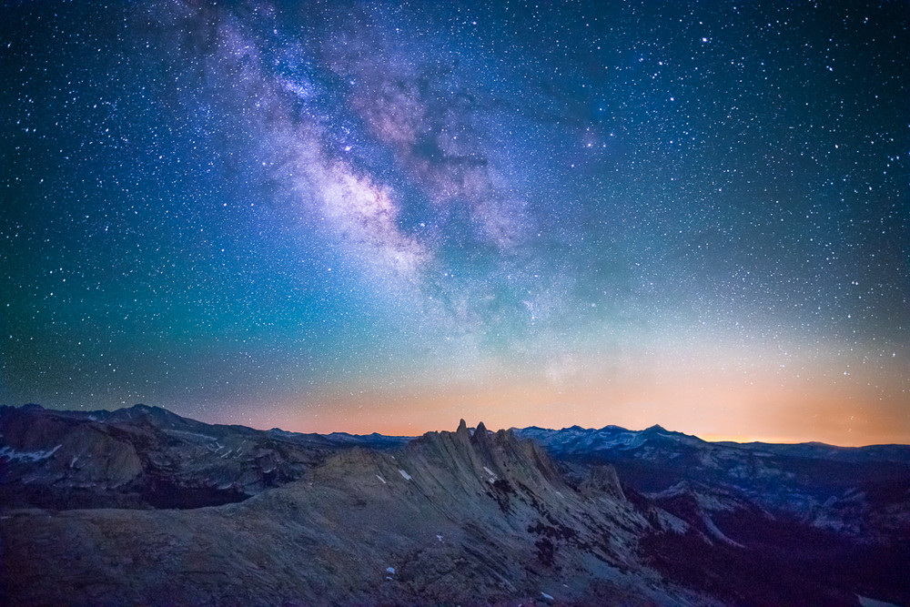The Milky Way and the Clark Range