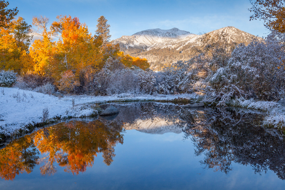 Autumn Colors and Mammoth Mountain