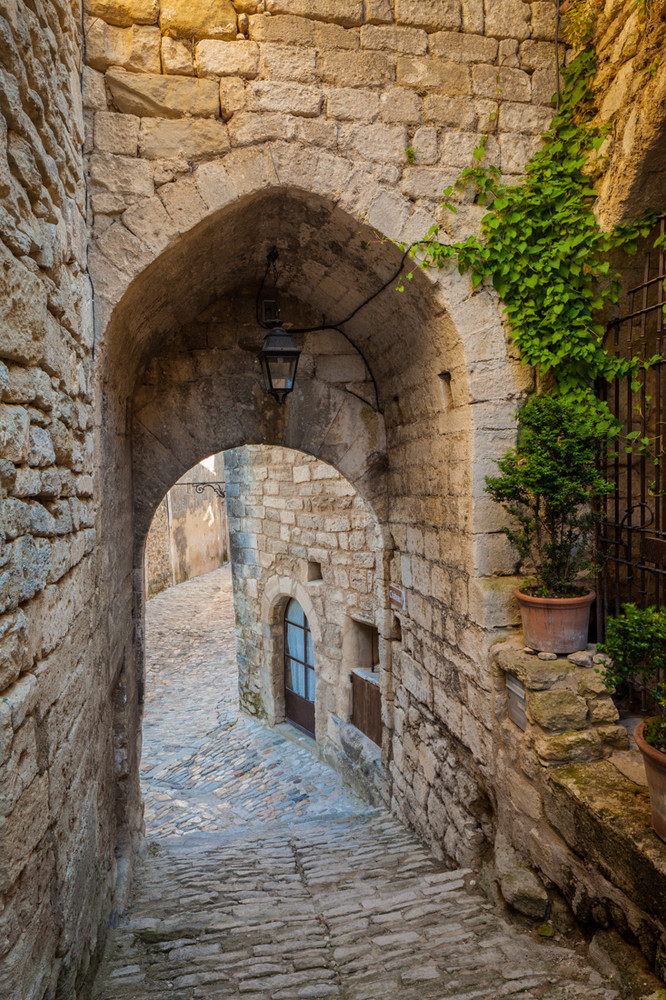 The Arch at Lacoste, Provence