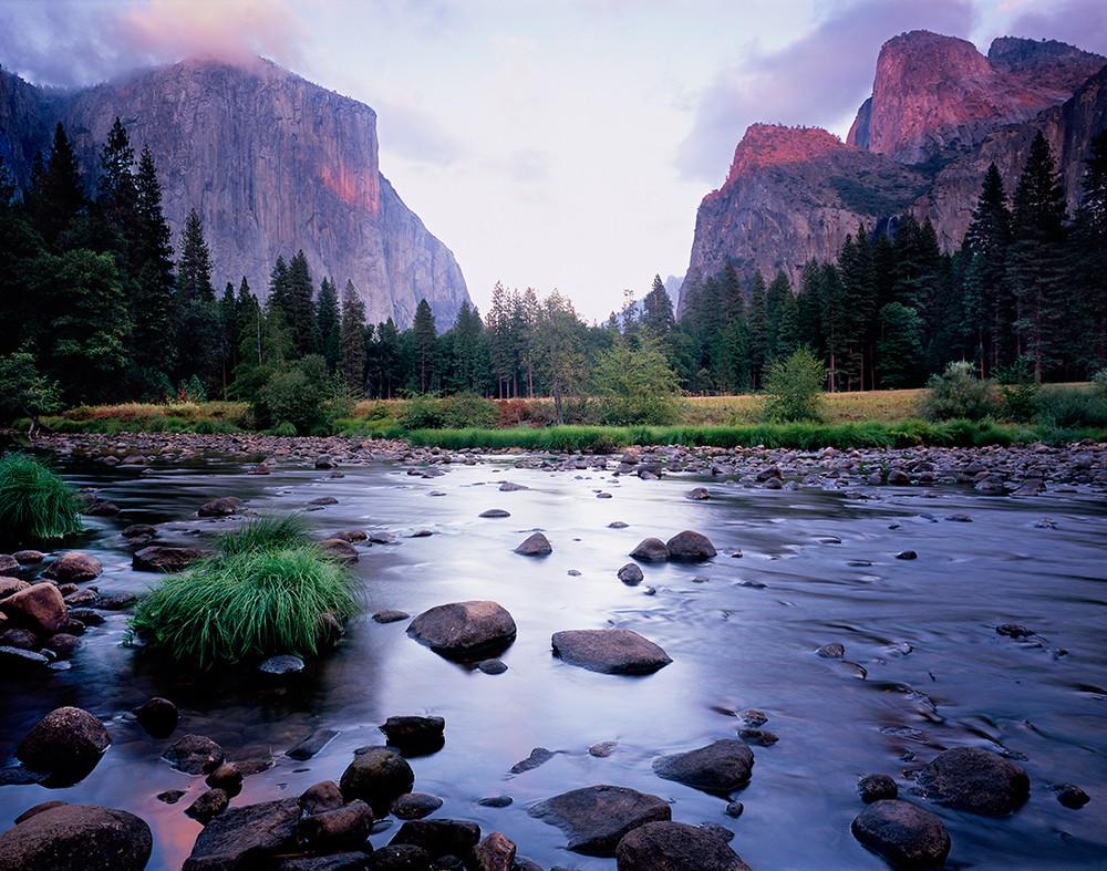 Yosemite Valley View in October