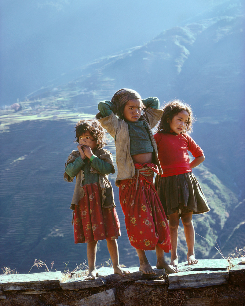 Nepali School Children