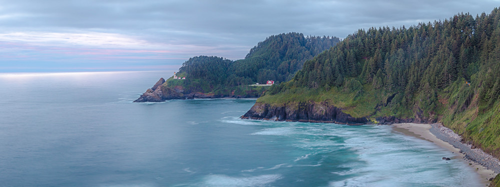The Blue Hour at Haceta Head Lighthouse