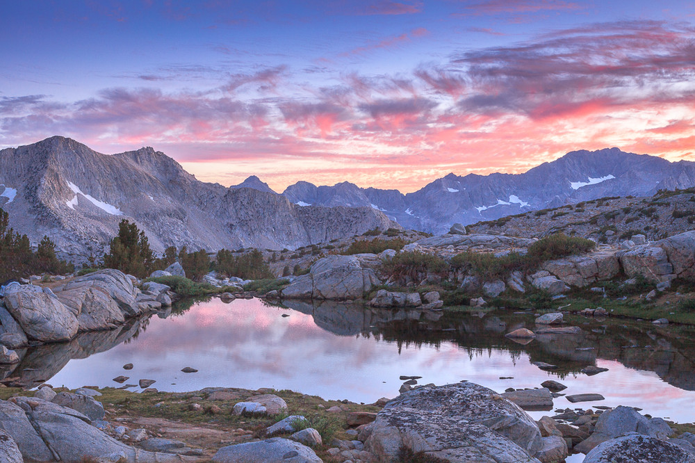 The Black Divide and Dusy Basin
