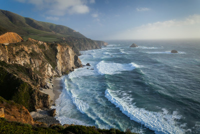 The Big Sur Coast at Bixby Bridge