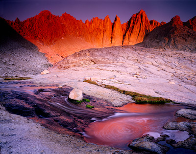 Summer Dawn - Mount Whitney