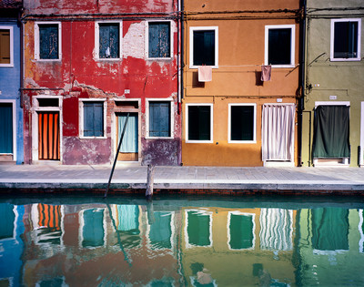 Afternoon along the Canal at Burano