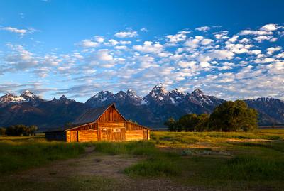 Mormon Row Barns