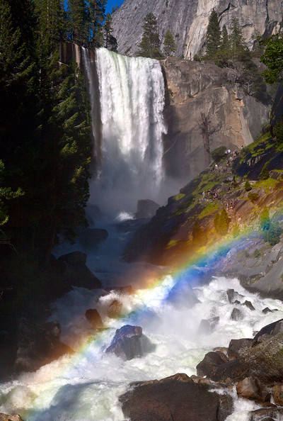 Full Runoff - Rainbow and Vernal Falls