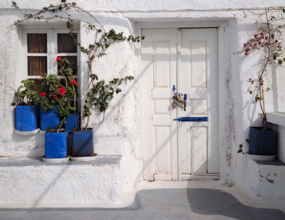 Santorini Doorway #1