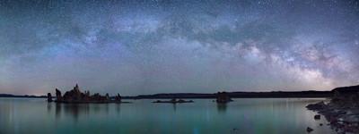The Milky Way over Mono Lake