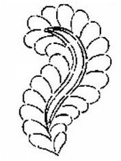 Roses 'n Ivy Stencil