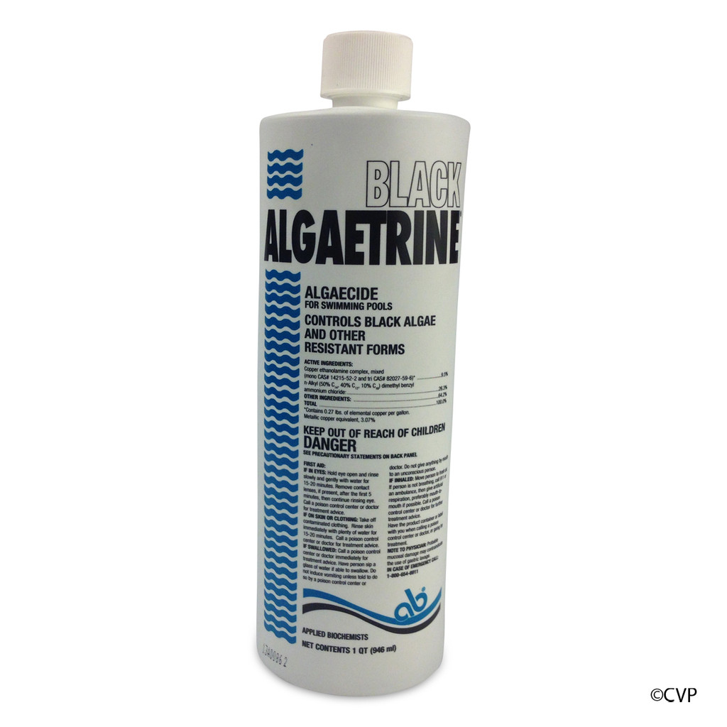 APPLIED BIO CHEMICALS | 1 QUART BLACK ALGAETRINE | 406303