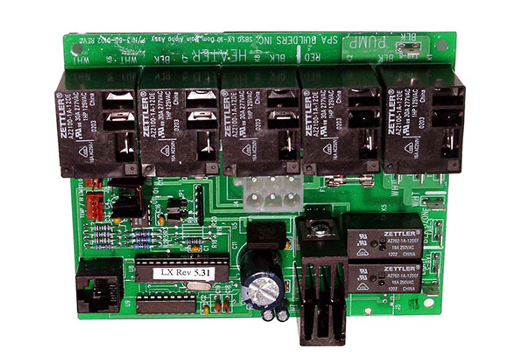 Allied Innovations | PCB |  LX-10 ALPHA REV 5.31 | 9920-200973