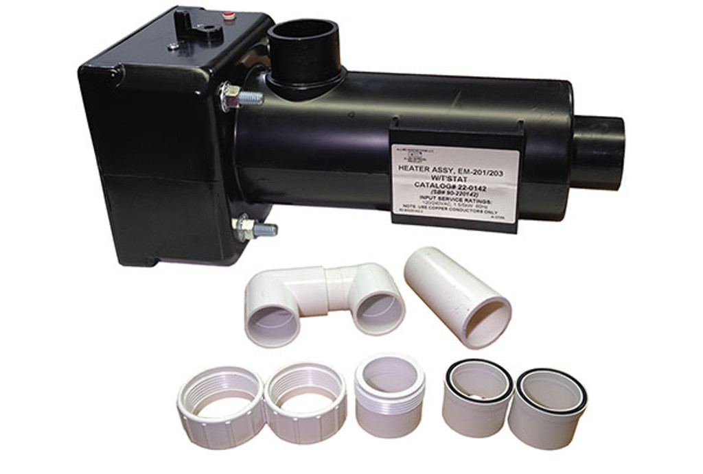 Allied Innovations   HEATER ASSEMBLY   HT-1 EM-201/203 WITHOUT THERMOSTAT   22-0143