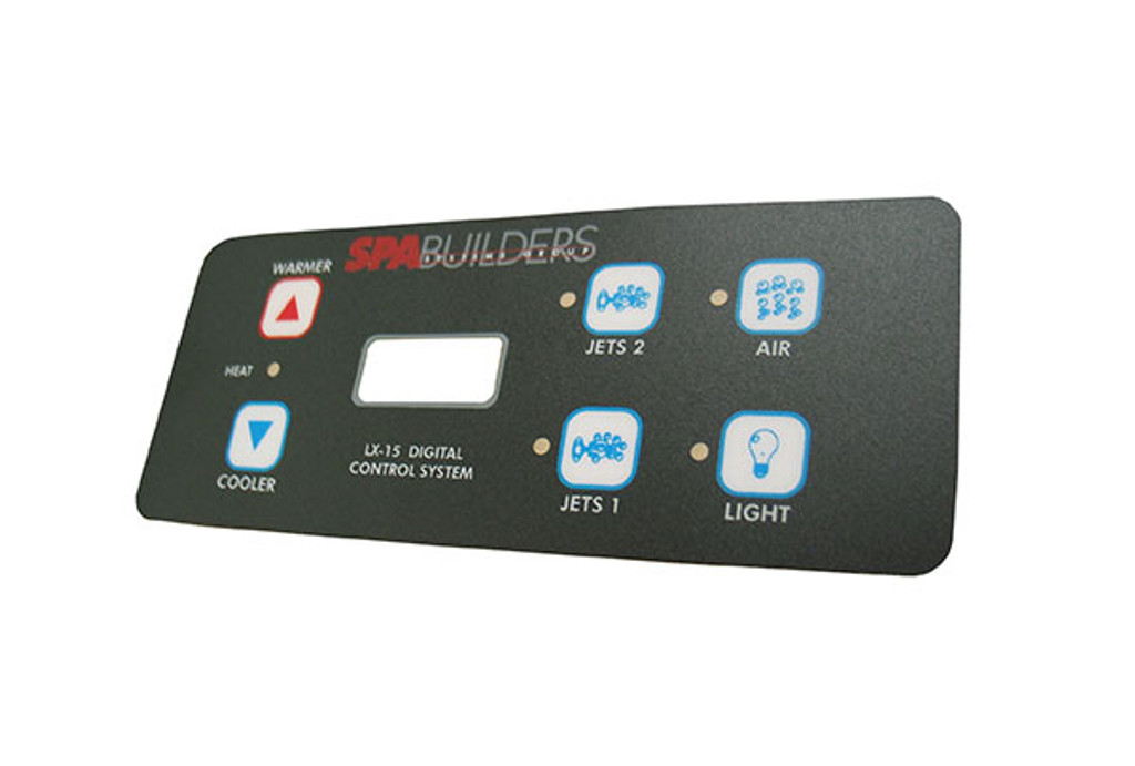 Allied Innovations | OVERLAY | LX-15 - 6-BUTTON | 9916-101131