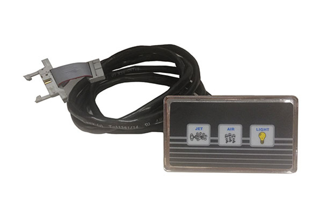 Allied Innovations | TOPSIDE | LX-20 REMOTE 3 BUTTON P/BL/L WITH RIBBON CABLE | 3-00-0147